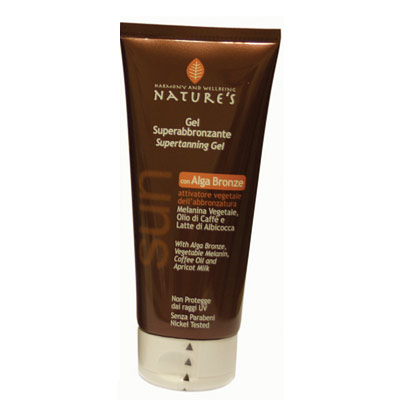 GEL SUPERBRONZEANTE COM ALGA BRONZE NATURES